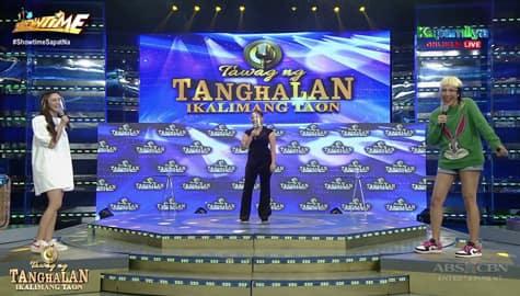 Vice Ganda at Kim Chiu, tumawa ng malakas matapos ang performance ni Alyssa | It's Showtime  Image Thumbnail