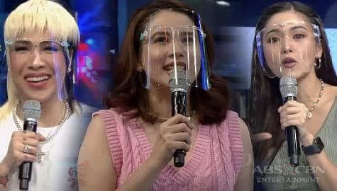 """""""Zinnia Yuson"""" Karylle, nag-isip ng pangalan gamit ang bulaklak kasama ang It's Showtime family Image Thumbnail"""