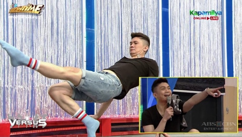 REPLAY! Vhong, nadulas matapos pagsayawin ni Vice Ganda | It's Showtime