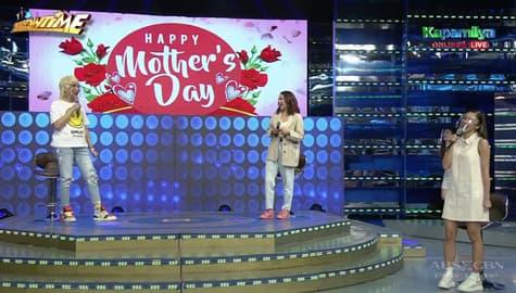 PANOORIN! Paano nga ba nag-celebrate ng Mother's day ang It's Showtime family? Image Thumbnail