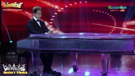 Flex Cortez's weekly finals performance on Versus | It's Showtime Image Thumbnail