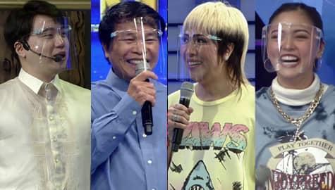 Kim, Ryan at Vice Ganda, naghati-hati para sa pambayad ng renta ni tatay Benjie | It's Showtime Image Thumbnail