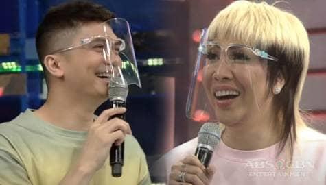 Vhong, pinamili si Vice Ganda kina Kim at Karylle | It's Showtime  Image Thumbnail