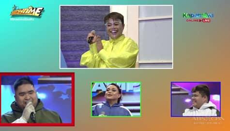 It's Showtime: Jhai Ho, tumpak sa kanyang hulang celebrity singer sa Hide & Sing! Image Thumbnail