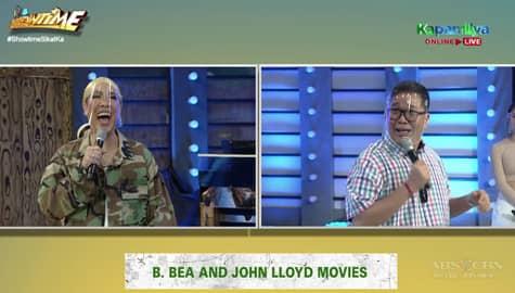 Vice Ganda vs. Jugs: Paramihan ng movie titles na ginawa nina John Lloyd at Bea! | It's Showtime Image Thumbnail