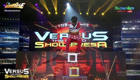 Fish Be With You's Versus The Grand Show-Presa 'Circus Act' perfomance | It's Showtime Image Thumbnail