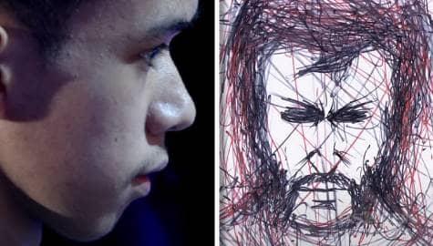 Christorpe Reeve's Versus The Grand Show-Presa 'Pen Art' perfomance | It's Showtime  Image Thumbnail