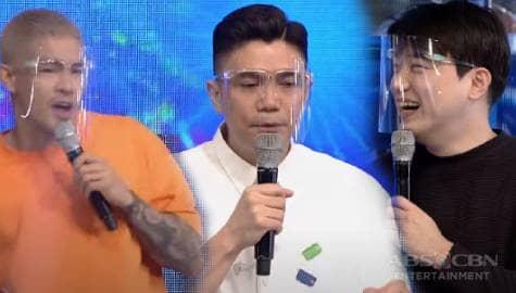 Vhong, kumanta kasama sina Ion at Ryan Bang | It's Showtime Image Thumbnail