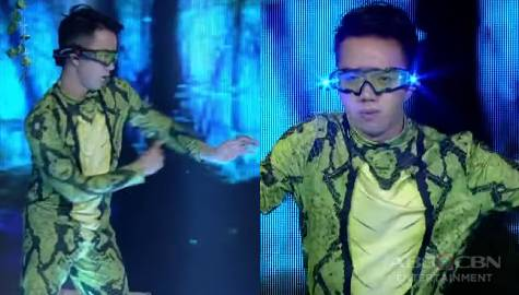 Captain Barber's Versus The Grand Show-Presa 'Pop Lock' dance perfomance | It's Showtime  Image Thumbnail