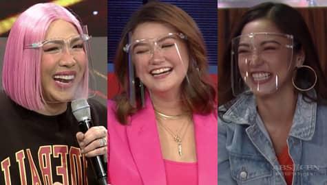 Paano nga ba nabudol nina Vice Ganda at Kim Chiu si Angelica? | It's Showtime Image Thumbnail
