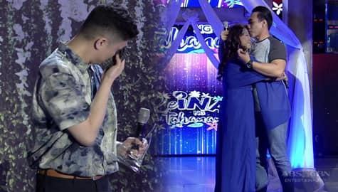 Vhong, hindi mapigilan ang luha sa mga payo ni ReiNanay no. 3 Myra sa kanyang anak | It's Showtime Image Thumbnail