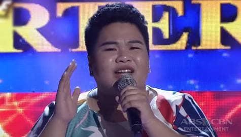 TNT 5 Quarterfinals Day 2: Erika Buensuceso sings Kim Chiu's Bawal Lumabas  Image Thumbnail