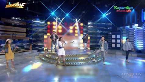WATCH: Erik Santos, Karylle and TNT 5 semifinalists' OPM treat on It's Showtime stage Image Thumbnail