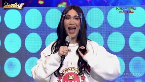 Vice Ganda, ginulat ang Showtime family sa kanyang new hairstyle à la Kim Kardashian