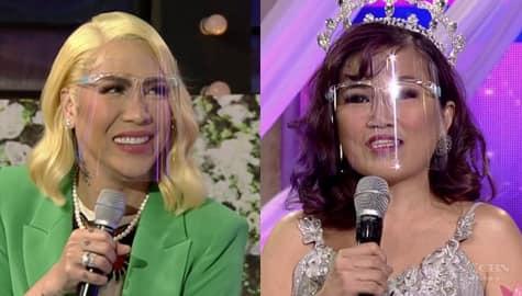 It's Showtime: Vice Ganda, kinilabutan sa winning answer ni ReiNanay Rhea