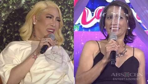 Vice Ganda, aliw na aliw sa introduction ni ReiNanay Cynthia | It's Showtime