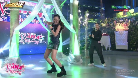 Kim Chiu, napasayaw kasama si ReiNanay Shiela Kim | It's Showtime