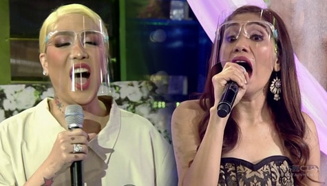 Vice Ganda's voice lesson with ReiNanay Jhing | It's Showtime