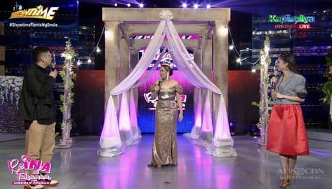 Kim at Vhong, kinilig sa kwento ni ReiNanay Reby | It's Showtime Image Thumbnail