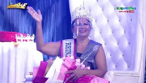 It's Showtime: Rebecca Lolong wins ReiNa ng Tahanan weekly finals Image Thumbnail
