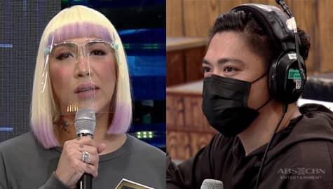 """""""Bakit ang hirap bumitaw"""" Vice Ganda, may tanong kay Pido"""