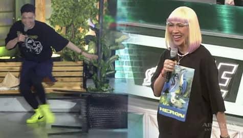 Vice Ganda, binato ng upuan si Vhong | It's Showtime Image Thumbnail
