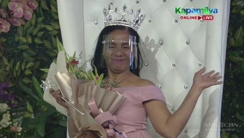 Raquel Salvoro, itinanghal na ReiNanay Of The Day   It's Showtime Image Thumbnail