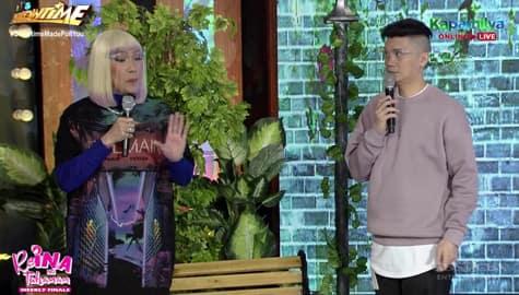 Papayagan ba si Vhong na sumama ang asawa niya kay Vice? | It's Showtime Image Thumbnail