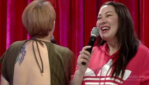 Janice, kinabog si Ruffa sa kanyang backless na dress | It's Showtime