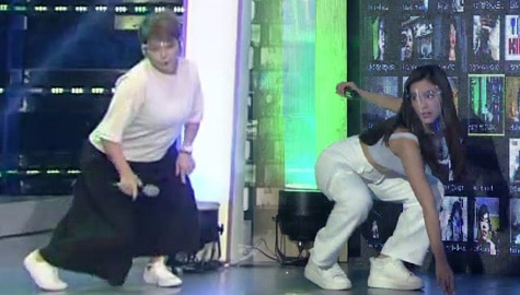 Tyang Amy, nakipag-dance showdown kay Jackie! | It's Showtime