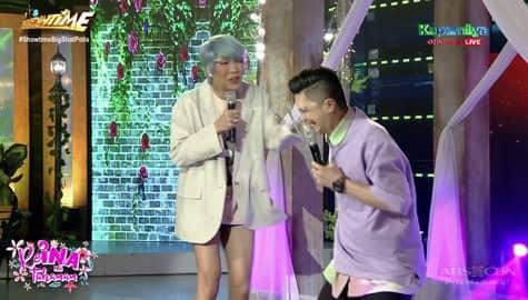 Vice Ganda, biglang naalala ang mga pananakit sa kanya nina Vhong at Jhong | It's Showtime