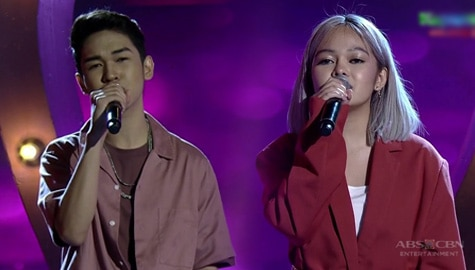 WATCH: TNT Champs Reiven and Janine's collaboration on Showtime stage Image Thumbnail