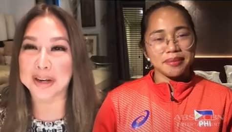 Hidilyn, ikinuwento kay Korina ang pinagdaanan niya noong taong '2014' | Rated Korina Image Thumbnail