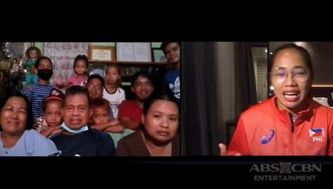 WATCH: Hidilyn, masayang nakausap ang pamilya sa tulong ng Rated Korina Image Thumbnail