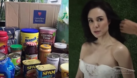 Korina, nakatanggap ng box of goodies mula kay Gretchen Barretto | Rated Korina Image Thumbnail
