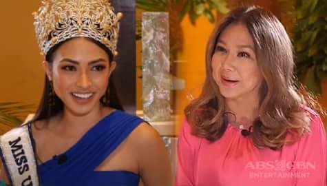 Korina, sinubukan ang galing ni Miss Universe PH 2021 na si Beatrice Gomez | Rated Korina Image Thumbnail
