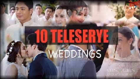 Top 10 Teleserye Weddings Thumbnail