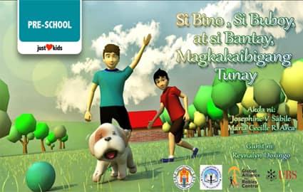Kuwentong Pambata | Si Bino, Si Buboy, Si Bantay Magkakaibigang Tunay | Kindergarten Image Thumbnail