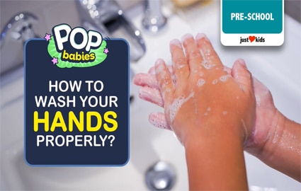 Proper Hand Washing | Pop Babies Image Thumbnail