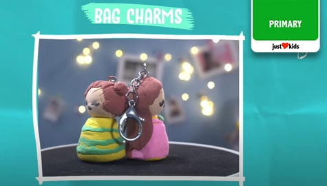 DIY Bag Charm Made Out of Clay! | Kidstylista Thumbnail