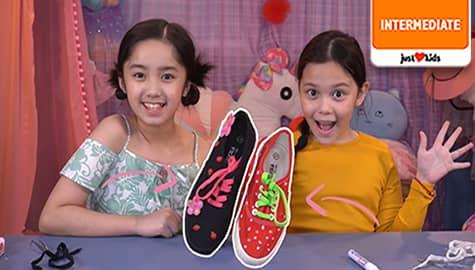 Amazing DIY Sneakers + Creative Shoe Lace Ideas | Kidstylista Thumbnail