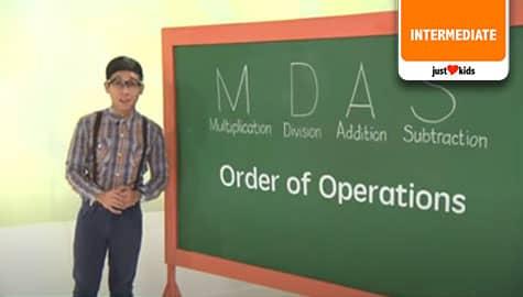 Order of Operations - MDAS | MathDali  Image Thumbnail