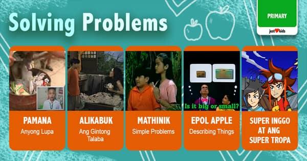 Mapa-Math,  English or even games, maraming tayong problems pwedeng harapin! Kaya, let's learn how to solve them!