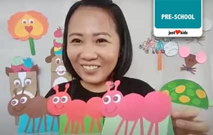 Ang Mag-Anak na Langgam | Wikaharian Online World Image Thumbnail