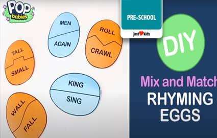 DIY Rhyming Eggs | Pop Babies Thumbnail