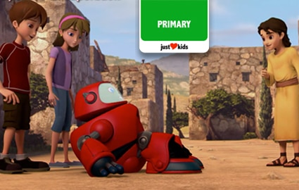 Superbook Re-Imagined Season 4 | Episode 1 Thumbnail