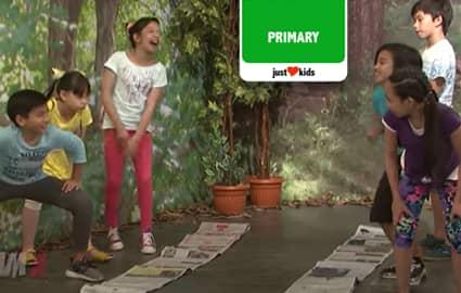 Sunday Funday: Newspaper Caterpillar Relay Challenge | Team Yey Image Thumbnail