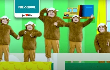 Five Little Monkeys | PoP Babies Image Thumbnail