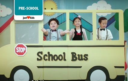The Wheels On The Bus | Pop Babies Image Thumbnail