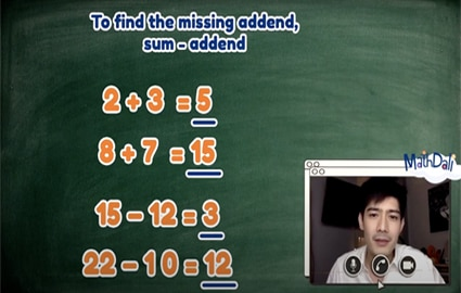 Mathdali Live | Finding the Missing Number in a Number Sequence Thumbnail